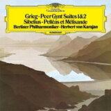 【】 Grieg グリーグ / グリーグ:『ペール?ギュント』組曲、シベリウス:『ペレアスとメリザンド』 カラヤン&ベルリン?フィル(1982)(シングルレイヤー) 【SACD】