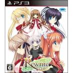 【送料無料】 PS3ソフト(Playstation3) / 【PS3】Rewrite 【GAME】
