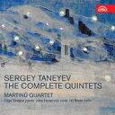 Composer: Ta Line - 【送料無料】 Taneyev タネーエフ / ピアノ五重奏曲、弦楽五重奏曲第1番、第2番 マルチヌー四重奏団、オリガ・ヴィノクール、他(2CD) 輸入盤 【CD】