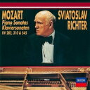 作曲家名: Ma行 - Mozart モーツァルト / ピアノ・ソナタ第8番、第4番、第15番 リヒテル 【CD】