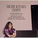 作曲家名: Sa行 - 【送料無料】 Chopin ショパン / Piano Sonata, 3, Mazurka, 38, 40, 41, : 小山実稚恵 【CD】