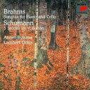Brahms ブラームス / ブラームス:チェロ・ソナタ第1番、第2番、シューマン:5つの小品 ビルスマ、オーキス 【CD】
