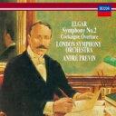 作曲家名: A行 - Elgar エルガー / 交響曲第2番、序曲『コケイン』 プレヴィン&ロンドン交響楽団 【SHM-CD】