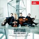 作曲家名: Sa行 - Smetana スメタナ / 弦楽四重奏曲第1番『わが生涯より』、第2番 パヴェル・ハース四重奏団 輸入盤 【CD】