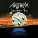 【送料無料】 Anthrax アンスラックス / Persistence Of Time 【LP】