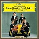 Shostakovich ショスタコービチ / 弦楽四重奏第3番、第8番、第11番 エマーソン弦楽四重奏団 【CD】