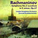 Composer: Ra Line - Rachmaninov ラフマニノフ / 交響曲第2番 ロジェストヴェンスキー&ロンドン交響楽団 輸入盤 【CD】