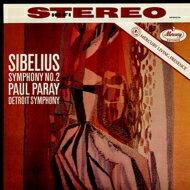 Sibelius シベリウス / 交響曲第2番 パレー&デトロイト交響楽団 【LP】