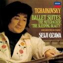 【送料無料】 Tchaikovsky チャイコフスキー / 『くるみ割り人形』組曲、『眠りの森の美女』組曲 小澤征爾&パリ管弦楽団(シングルレイヤー) 【SACD】
