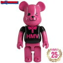 【送料無料】 Be@rbrick/Kubrick ベアブリック/キューブリック / BE@RBRICK HMV BLACK POLO 400% 25th Anniverasry ver. 【Goods】