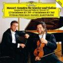 作曲家名: Ma行 - Mozart モーツァルト / ヴァイオリン・ソナタ第32番、第33番、変奏曲集 パールマン、バレンボイム 【SHM-CD】