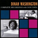Artist Name: D - Dinah Washington ダイナワシントン / Complete Recordings With Don Costa (+bonus) 輸入盤 【CD】