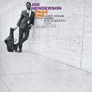 Joe Henderson ジョーヘンダーソン / Page One (アナログレコード / Blue Note) 【LP】