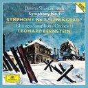 Shostakovich ショスタコービチ / 交響曲第7番『レニングラード』、第1番 バーンスタイン&シカゴ交響楽団(2CD) 【SHM-CD】