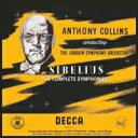 【送料無料】 Sibelius シベリウス / 交響曲全集 アンソニー・コリンズ&ロンドン交響楽団(6LP) 【LP】