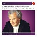Composer: Sa Line - Schubert シューベルト / 交響曲全集 コリン・デイヴィス&シュターツカペレ・ドレスデン(4CD) 輸入盤 【CD】