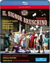 Rossini ロッシーニ / 『ブルスキーノ氏』全曲 ソテッラネオ演出、ルスティオーニ&ロッシーニ響、デ・カンディア、レポーレ、他(201..