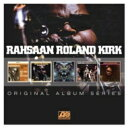 Artist Name: R - 【送料無料】 Rahsaan Roland Kirk / 5cd Original Album Series Box Set 輸入盤 【CD】