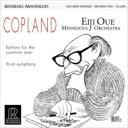 Copland コープランド / 交響曲第3番、市民のためのファンファーレ:大植英次 指揮&ミネソタ管弦楽団 (アナログレコード) 【LP】