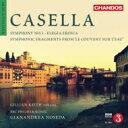 作曲家名: Ka行 - 【送料無料】 Casella カゼッラ / 交響曲第1番、英雄的悲歌、水上の修道院 ノセダ&BBCフィル、G.キース 輸入盤 【CD】