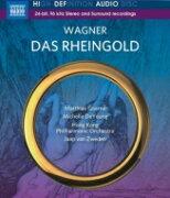 Wagner ワーグナー / 『ラインの黄金』全曲 ヤープ・ファン・ズヴェーデン&香港フィル、マティアス・ゲルネ、ミシェル・デ・ヤング、他(2015 ステレオ) 【BLU-RAY AUDIO】