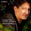 Composer: Ta Line - 【送料無料】 Tchaikovsky チャイコフスキー / 『四季』、グランド・ソナタ フレディ・ケンプ 輸入盤 【SACD】