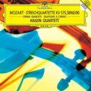 作曲家名: Ma行 - Mozart モーツァルト / 弦楽四重奏曲集第6集 ハーゲン四重奏団 【CD】