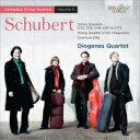 作曲家名: Sa行 - Schubert シューベルト / 弦楽四重奏曲全集第5集〜第12番『四重奏断章』、第2、3、4、9、10番、他 ディオゲネス四重奏団(2CD) 輸入盤 【CD】