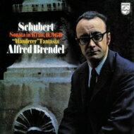 Schubert シューベルト / ピアノ・ソナタ第21番、さすらい人幻想曲(1971):アルフレート・ブレンデル(ピアノ) (180グラム重量盤レコード) 【LP】