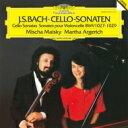 【送料無料】 Bach, Johann Sebastian バッハ / Gamba Sonata, 1, 2, 3, Maisky(Vc) Argerich(P) 【LP】