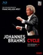 【送料無料】 Brahms ブラームス / 交響曲全集、管弦楽曲集、ピアノ協奏曲第1番、第2番、ヴァイオリン協奏曲 ヴェルザー=メスト&クリーヴランド管、ブロンフマン、J.フィッシャー(3BD) 【BLU-RAY DISC】