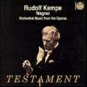 管弦乐 - Wagner ワーグナー / 管弦楽作品集 ルドルフ・ケンペ&ウィーン・フィル 輸入盤 【CD】