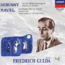 Composer: Ta Line - Debussy/Ravel / ドビュッシー:ベルガマスク組曲、ピアノのために、ラヴェル:夜のガスパール、ソナチネ、高雅で感傷的なワルツ グルダ 【CD】