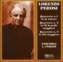 作曲家名: Ha行 - 【送料無料】 ペロージ、ロレンツォ(1872-1956) / String Quartet.1, 2, 3: Ensemble L.perosi 輸入盤 【CD】