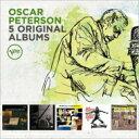 Artist Name: O - 【送料無料】 Oscar Peterson オスカーピーターソン / 5 Original Albums 輸入盤 【CD】