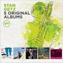藝人名: S - 【送料無料】 Stan Getz スタンゲッツ / 5 Original Albums 輸入盤 【CD】
