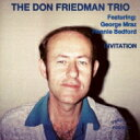 艺人名: D - Don Friedman ドンフリードマン / Invitiation 【CD】