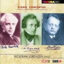 古典 - 【送料無料】 Reger レーガー / Piano Concerto: Lorenzen(P) R.petersen / St Gallen So +mendelssohn, Bartok 輸入盤 【CD】