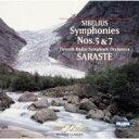 Composer: Sa Line - Sibelius シベリウス / Sym.5, 7: Saraste / Finnish.rso 【CD】