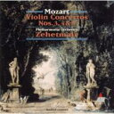 Mozart モーツァルト / Violin Concertos.3-5: Zehetmair(Vn) / Po 【CD】