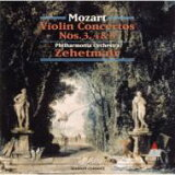 Mozart 莫扎特/ Violin Concertos.3-5∶ Zehetmair(Vn)/ Po 【CD】[Mozart モーツァルト / Violin Concertos.3-5: Zehetmair(Vn) / Po 【CD】]