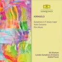 作曲家名: Ka行 - Korngold コルンゴルト / 交響曲、ヴァイオリン協奏曲、映画音楽集 プレヴィン&ロンドン響、ギル・シャハム(2CD) 輸入盤 【CD】