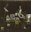 藝人名: J - 【送料無料】 Jeri Southern / Blue Note, Chicago March 1956 輸入盤 【CD】