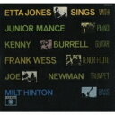 Artist Name: E - Etta Jones エッタジョーンズ / Etta Jones Sings With Junior Mance And Kenny Burrell 【SHM-CD】