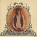 Don Nix / In God We Trust 【SHM-CD】