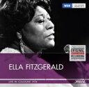藝人名: E - 【送料無料】 Ella Fitzgerald エラフィッツジェラルド / Live In Cologne 1974 輸入盤 【CD】