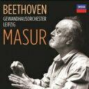 【送料無料】 Beethoven ベートーヴェン / 交響曲全集(1987-92)、序曲全集、協奏曲集 クルト・マズア & ゲヴァントハウス管弦楽団、アッカルド、ボザール・トリオ(8CD) 輸入盤 【CD】