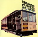 藝人名: T - Thelonious Monk セロニアスモンク / Thelonious Alone In Sun Francisco + 1 【SHM-CD】