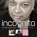 【送料無料】 Incognito インコグニート / Classic Album Series: Who Needs Love / Adventures / E...