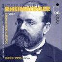 器乐曲 - ラインベルガー(1839-1901) / オルガン作品全集 Vol.5 Innig 輸入盤 【CD】